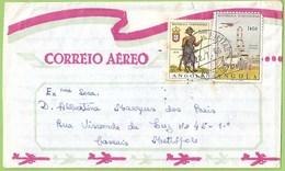 História Postal - Filatelia - Correio Aéreo - Militar - Philately - Stamps - Letter - Angola - Angola