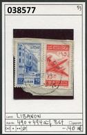 Libanon - Liban - Rep. Libanaise - Michel 490 + 494 Auf Briefstück / Sur Fragment - Oo Oblit. Used Gebruikt - Libanon