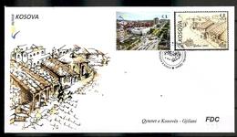 KOSOVO 2018, TOWN GJILANI,FDC - Kosovo