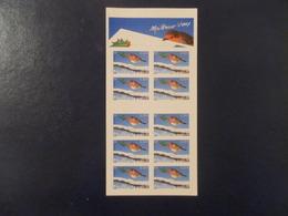 FRANCE BLOC-FEUILLET YTBC37 Autocollant MEILLEURS VOEUX 2003** - Carnets