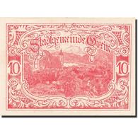 Billet, Autriche, Grein, 10 Heller, Village, 1921, 1921-04-15, SPL - Oesterreich