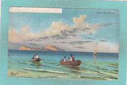 Old Small Postcard Of Napoli,Naples, Campania, Italy.R51. - Napoli (Naples)