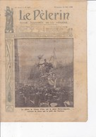 Le Pèlerin 1909 30 Mai Fêtes De Jeanne D'Arc, Beaux-Arts, Accident Automobile, Grève Générale ... - Books, Magazines, Comics
