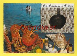 CPSM Recette Cuisine - La LANGOUSTE Grillée - Recettes (cuisine)