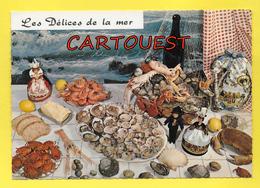 CPSM Recette Cuisine - Les Délices De La Mer - Recettes (cuisine)
