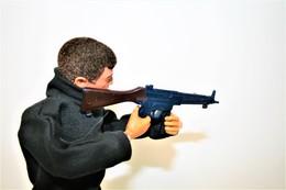 Vintage ACTION MAN PARTS : TOM STONE MP5 - Original Hasbro 1970's- Palitoy - GI JOE - Action Man