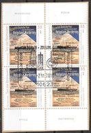 BRD 2010 / MiNr.   2819  Vierer Sonderstempel   Ober- Und Unterrand  Auf Papier    O / Used  (f459) - [7] République Fédérale