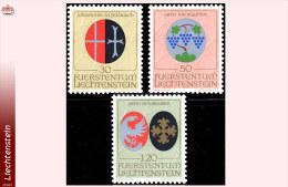 Liechtenstein 0491/93** Armoiries  MNH - Liechtenstein