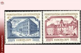 Liechtenstein 0639/40**  Europa 1978  MNH - Faciale: 1.20 FS - Ungebraucht