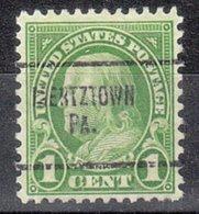 USA Precancel Vorausentwertung Preo, Locals Pennsylvania, Mertztown 632-704 - Vereinigte Staaten