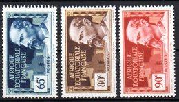 AEF Afrique : N° 47  49 & 50  Neuf  XX MNH  , Cote : 2,75 Euro - A.E.F. (1936-1958)