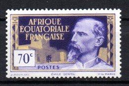 AEF Afrique : N° 81  Neuf  XX MNH  , Cote : 1,20  Euro - A.E.F. (1936-1958)