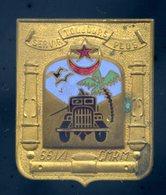 Ancien Insigne émaillé De La 661/1è CMRM Unité Libération 1ère Armée  Delattre De Tassigny -- Mardini -- Ins7 - Armée De Terre