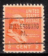 USA Precancel Vorausentwertung Preo, Locals Pennsylvania, Millersburg 704 - Vereinigte Staaten