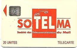 @+ Mali - SOTELMA Logo Orange - 20U - 5 N° Emb (40757) - Ref : MAL-O-08 - Mali