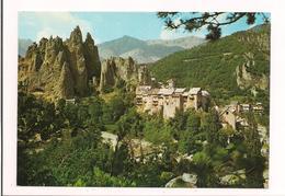 Peones: Vue Du Pittoresque Village Entre Valberg Et Guillaumes - Carte Neuve - - Villefranche-sur-Mer