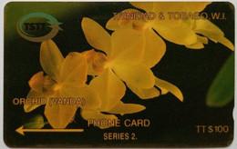 5CTTD Orchid $100 - Trinidad & Tobago