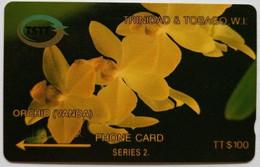 6CTTD Orchid $100 - Trinidad & Tobago