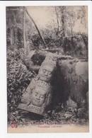 CPA CAMBODGE ANGKOR THOM Tête De Geant - Cambodia