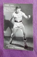 PHOTO BOXE : JUIN Pierre, Chmp. De L'Ouest, Demi-finaliste Champ. De France. - Boxing