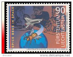 Liechtenstein 1232**  Abeille Dans L'espace  MNH - Liechtenstein