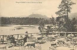 A 18 - 521 - HANAU - HOTEL ETANG - VUE DE LA TERRASSE DE L'HOTEL - GERANT SCHMITT - SIGLER ED. - Hanau