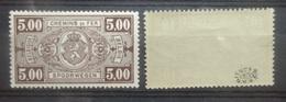 BELGIE  Spoorweg  1940   TR 211 - 212    Postfris ** Met Keurmerk   CW 8,75 - Chemins De Fer
