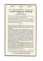 76. LOUISA-CATHARINA  HARDIS - °DESSCHEL (Antwerpen) 1883 / +HENIS 1947 - Imágenes Religiosas