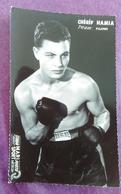 PHOTO BOXE : HAMIA Chérif, Studio Mari Sports - Boxing