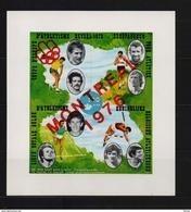 E 127AON  ATLETIEK ONGETANDE  BLOK MET OPDRUK MONTREAL 1976 POSTFRIS** - Commemorative Labels