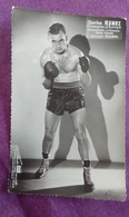 PHOTO BOXE : HUMEZ Charles, Champion D'Europe, Champion De France, Poids Moyen, Studio Mari Sports - Boxing