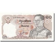 Billet, Thaïlande, 10 Baht, 1978-1981, 1980, KM:87, NEUF - Thaïlande