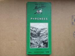 """Pyrénées """"Guide Du Pneu Michelin"""" / De 1958 - Michelin (guides)"""