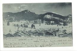 19692 - Leysin En Hiver Circulée En 1899 - VD Vaud
