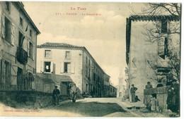 81 - Vaour : Grande Rue - Vaour