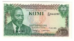 Kenya 10 Shilling 01/07/1978 UNC - Kenia
