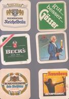 LOT 67  BIERDECKEL  6X - Alcoholes