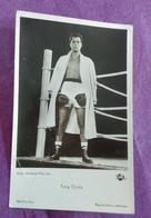 CARTE POSTALE PHOTO BOXE : CURTIS Tony - Boxing