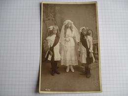 Carte Photo Du Photographe Salingros à Falisolle , Communion ? - België