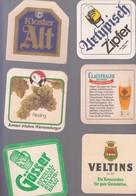 LOT 69  BIERDECKEL  6X - Alcoholes
