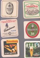 LOT 70  BIERDECKEL  6X - Alcohols