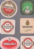 LOT 71  BIERDECKEL  6X - Alcoholes