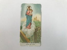 NOTRE DAME DE LA GARDE Veillez Sur Nous - Priere Bonne Mère Au Dos - Santini