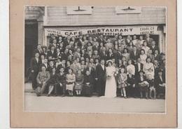 Nassiet.Hagetmau. Photo De Mariage .Café Restaurant Charles Anselme.Photo Capdeville. - Anonymous Persons