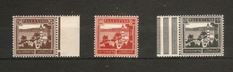 PALESTINE 1942 250m, 500m And £P1 TOP VALUES OF THE SET SG 109, 110, 111 VERY LIGHTLY MOUNTED MINT Cat £28 - Palestine