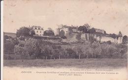 CPA -  DECIZE - Enceintes Fortifiées Et Vestiges D'un Ancien Château Fort Des Comtes De Nevers - Decize