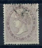 Spagna 1867 Mi. 85 Usato 100% 20 C, Regina Isabella - 1850-68 Kingdom: Isabella II