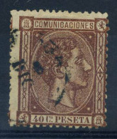 Spagna 1875 Mi. 151 Usato 100% 40 C, Re Alfonso XII - Used Stamps