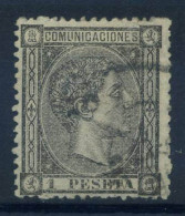 Spagna 1875 Mi. 153 Usato 80% 1 Pta, Re Alfonso XII - Used Stamps