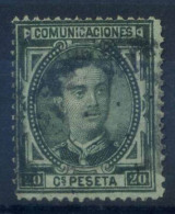 Spagna 1876 Mi. 158 Usato 100% 20 C, Re Alfonso XII - Used Stamps